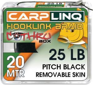CarpLinq Návazcová šňůrka Removable Skin 15LB 20m Mud Brown