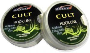 Climax Návazcová šňůrka Cult Hook Link 0,25mm 18kg/40lb 15m
