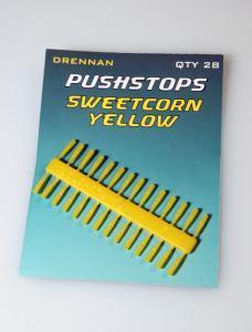 Nekonečné zarážky Drennan Pushstops Sweetcorn Yellow