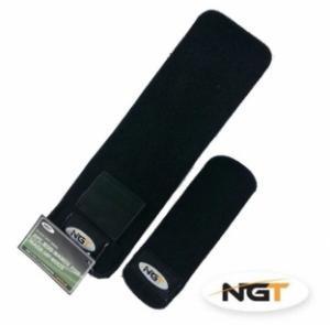 Neoprenové pásky na sepnutí prutu s kapsou na olovo NGT Neoprene Rod Bands