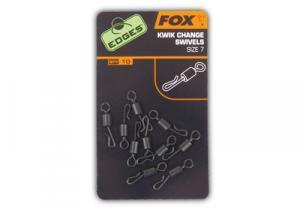 Obratlík Fox Edges Kwik Change Swivels 7