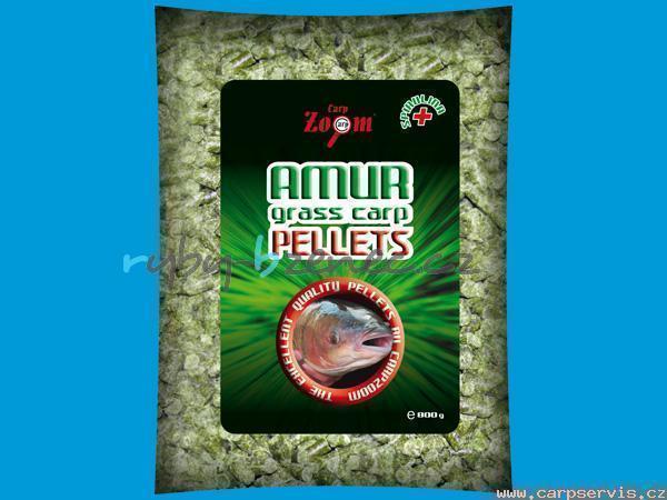 CarpZoom Pelety Amur Grass Carp Pellets 8mm 800gr