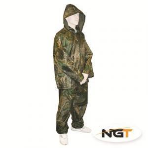 Pláštěnka + kalhoty NGT Camo vel. 2XL