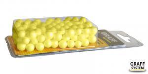 Plovoucí kuličky polystyrenové Graff System žluté
