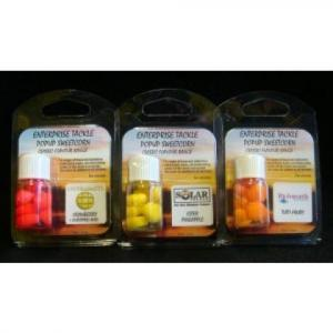 Plovoucí umělá kukuřice v esenci Essential Baits B5 žlutá+hnědá