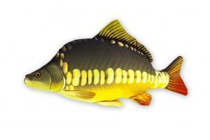 Polštář plyšová ryba Kapr