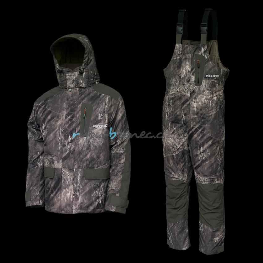 Prologic Zateplený oblek HighGrade RealTree Fishing Thermo Suit Camo/Leaf Green vel. L