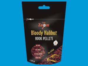 Red halibut pelety s dírou CarpZoom Bloody Halibut Pellets 15mm 150gr