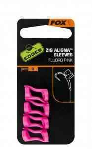 Rovnátko na háček Fox Edges Zig Aligna Sleeves Fluoro Pink