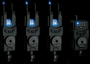 Sada signalizátorů Prologic SMX Alarms Custom Black 2+1 modrá dioda