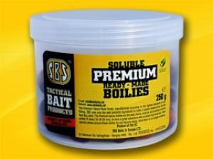 SBS Baits Soluble Premium Ready-Made Boilies Friut&Nut 250gr