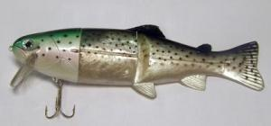 Sellior Gumový wobler Duhák 16cm 40gr