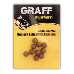 Silikonové kuličky Graff System 8mm