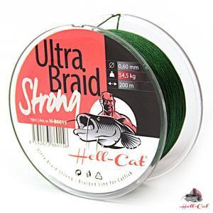 Šňůra Hell-Cat Ultra Braid Strong 0,60mm 54,5kg 200m