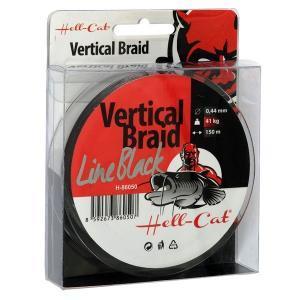 Šňůra Hell-Cat Vertical Braid Line Black 0,37mm 33kg 150m