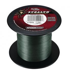 Šňůra SpiderWire Stealth Braid Green 0,30mm 23,06kg 1m