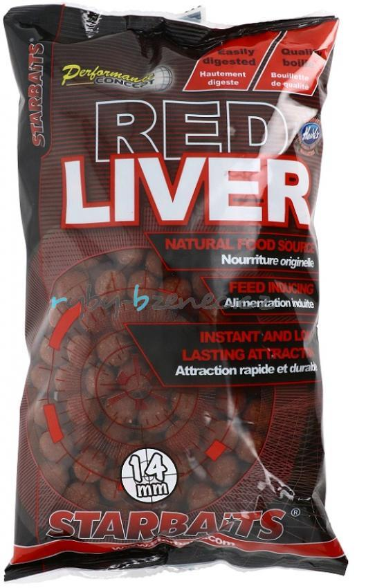 Starbaits Boilies Concept Red Liver 20mm 1kg