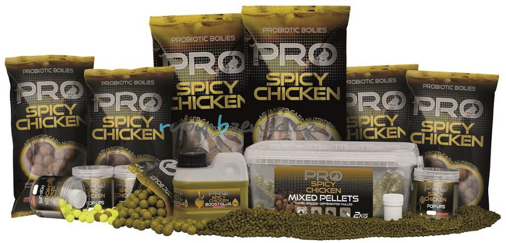 Starbaits Boilies Probiotic Spicy Chicken 14mm 1kg