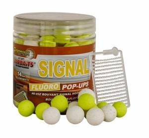 Starbaits Fluoro Pop-Ups Boilies Concept Signal 14mm 80gr