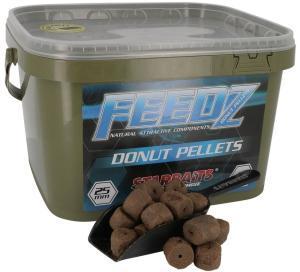 Starbaits Pelety s dírou Feedz Donut Pellets 15mm 4,5kg