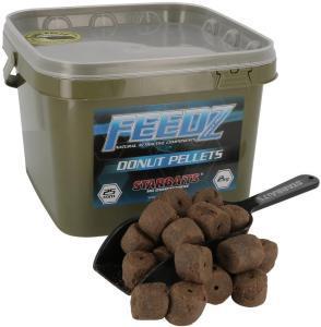 Starbaits Pelety s dírou Feedz Donut Pellets 25mm 2kg