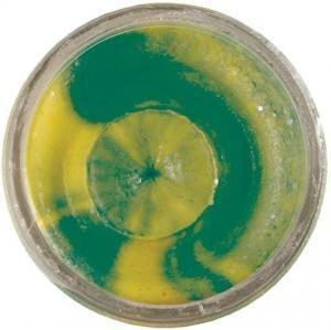Berkley Těsto na pstruhy Power Bait Glitter Trout Bait 50gr Fluo Green Yellow