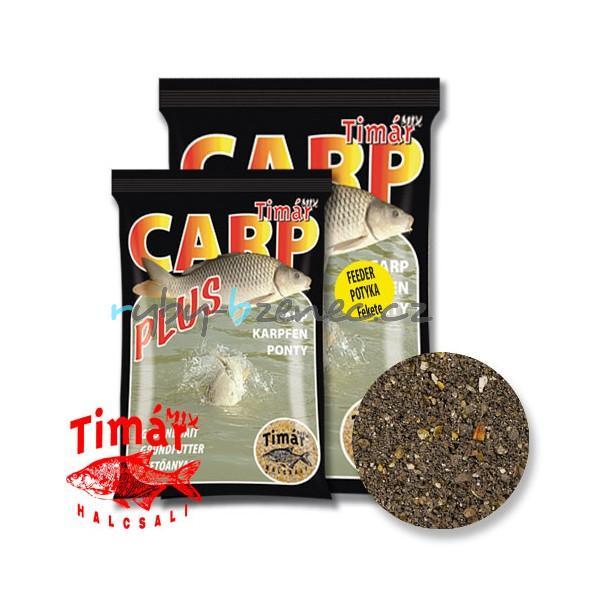 Timár Krmítková směs Carp Plus Feeder Carp Černý 3kg