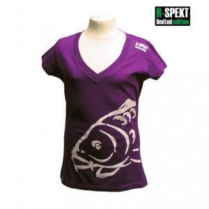 Dámské tričko R-SPEKT Lady Carper fialové vel. M