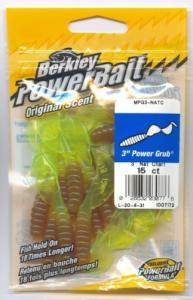 Berkley Power Bait Power Grub 7,6cm Nat Chart