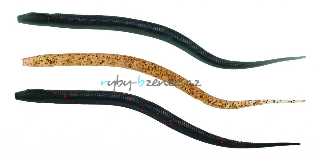 Úhoř Balzer Mighty Eel Schwarz-Silber 7cm