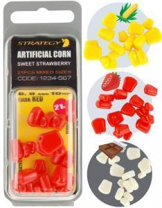 Umělá plovoucí kukuřice Strategy Artificial Sweet Corn 6,8,10mm Red