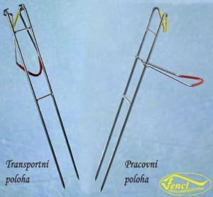 Vidlička Fencl na vyvěšenou 45cm