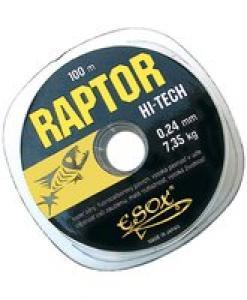 Vlasec Esox Raptor Hi-Tech 0,38mm, 100m