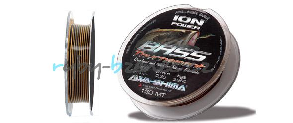 Awa-Shima Vlasec Ion Power Bass Competition 0,16mm 150m