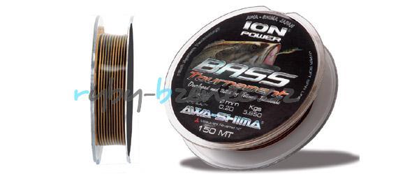 Awa-Shima Vlasec Ion Power Bass Competition 0,20mm 150m