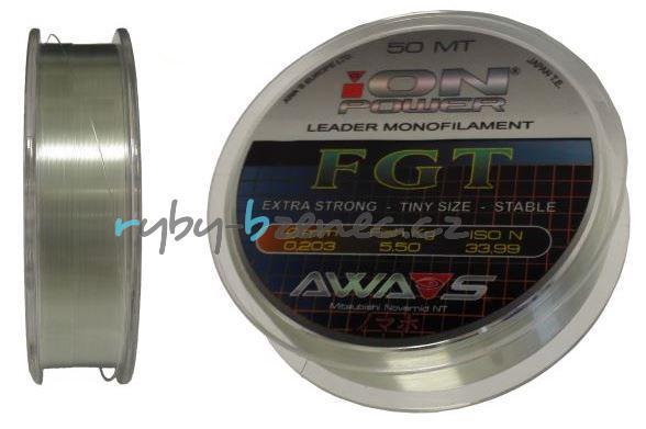 Awa-Shima Vlasec Ion Power FGT 0,128mm 50m