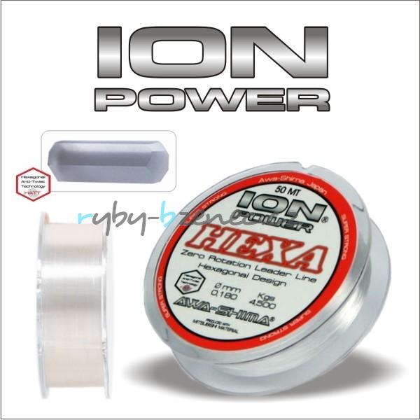 Awa-Shima Vlasec Ion Power Hexa 0,12mm 50m