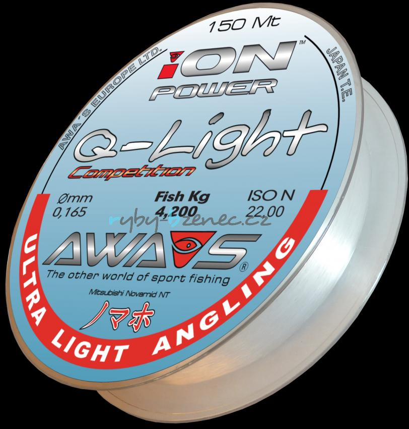 Awa-Shima Vlasec Ion Power Q-Light Competition 0,128mm 150m