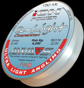 Awa-Shima Vlasec Ion Power Q-Light Competition 0,128mm 150m