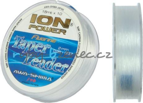 Awa-Shima Vlasec Ion Power Taper Leader 0,23-0,57mm 10 x 15m