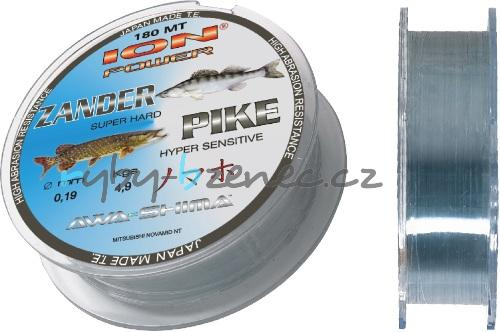 Awa-Shima Vlasec Ion Power Zander&Pike 0,23mm 180m