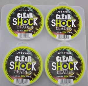Jet Fish Vlasec Clear Shock Leader 0,45mm 100m