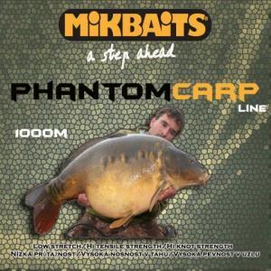 Vlasec Mikbaits Phantom Carp 0,25mm, 5,20kg, 1000m
