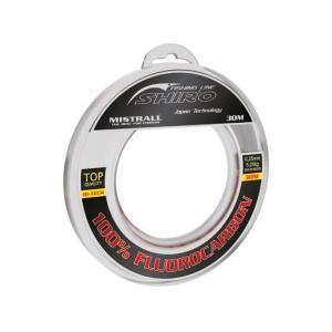 Vlasec Mistrall Shiro 100% Fluorocarbon 0,25mm 5,25kg 30m