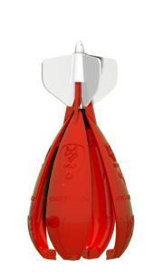 Wolf Zakrmovací raketa X-Spod Competition Red červená