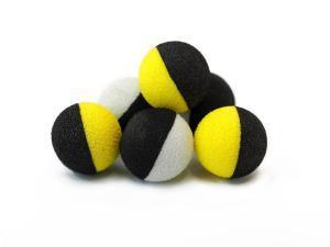 ZIG BAITS Tandem Baits Zig Balls 10mm žluto/černé